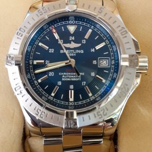 Breitling Colt Automatic Blue Dial 41mm A17380