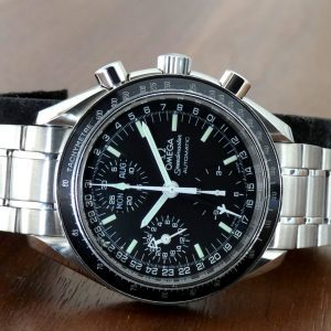 Omega Speedmaster Triple DAY DATE MONTH NoTax Automatic 1997 3520.50 Int'l Ship