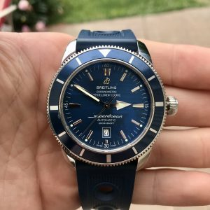 Breitling Superocean Heritage 46mm Blue Dial A1732016/C734/152A Complete Set