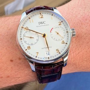 IWC Portugieser Automatic 42mm Silver Dial 7-Days IW500704