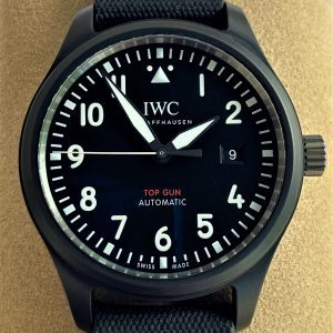 IWC Pilot Top Gun Automatic Black Dial 41mm IW326901 (2021 COMPLETE)