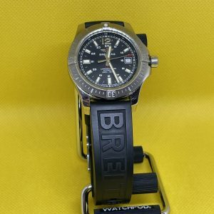 Breitling Colt 41 Automatic Volcano Black Dial A1731311 Box Papers