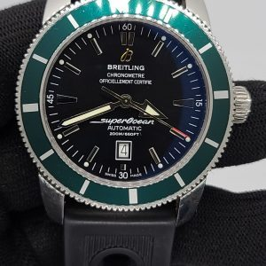 Limited Edition Breitling Superocean Heritage 46 Green Bezel A17320Q5 / A17320