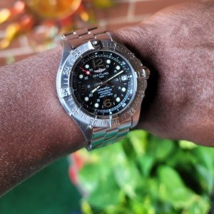Breitling SuperOcean Steelfish 42mm A17360 with Stainless Steel A17390 Bracelet