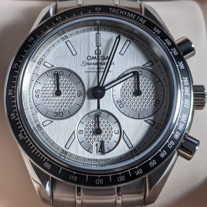 Omega Speedmaster Racing Co-axial Silver Dial Complete Set 326.32.40.50.02.001